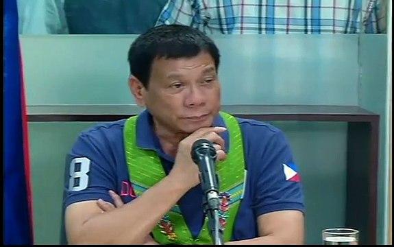 Press Conference of Pres. Duterte!