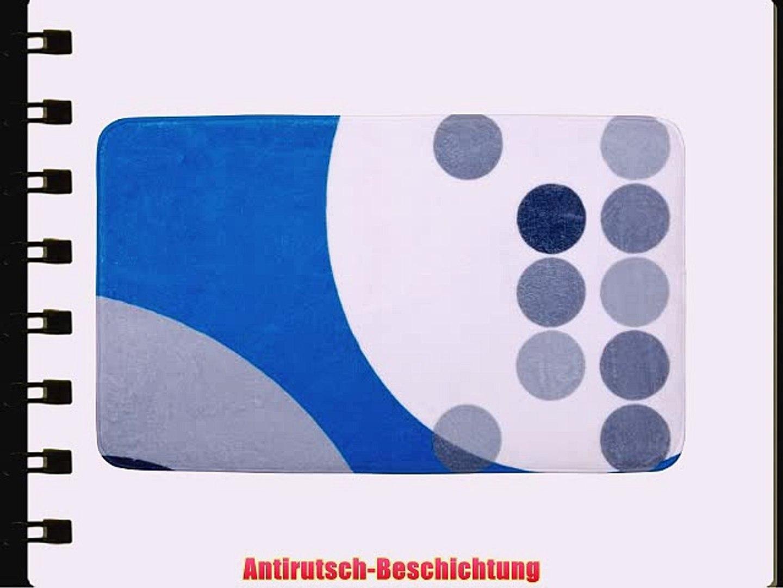 WENKO 20871100 Badematte Artdeco - Duschvorleger Kunststoff - Polyester Mehrfarbig