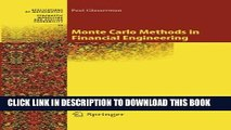[PDF] Monte Carlo Methods in Financial Engineering (Stochastic Modelling and Applied Probability)
