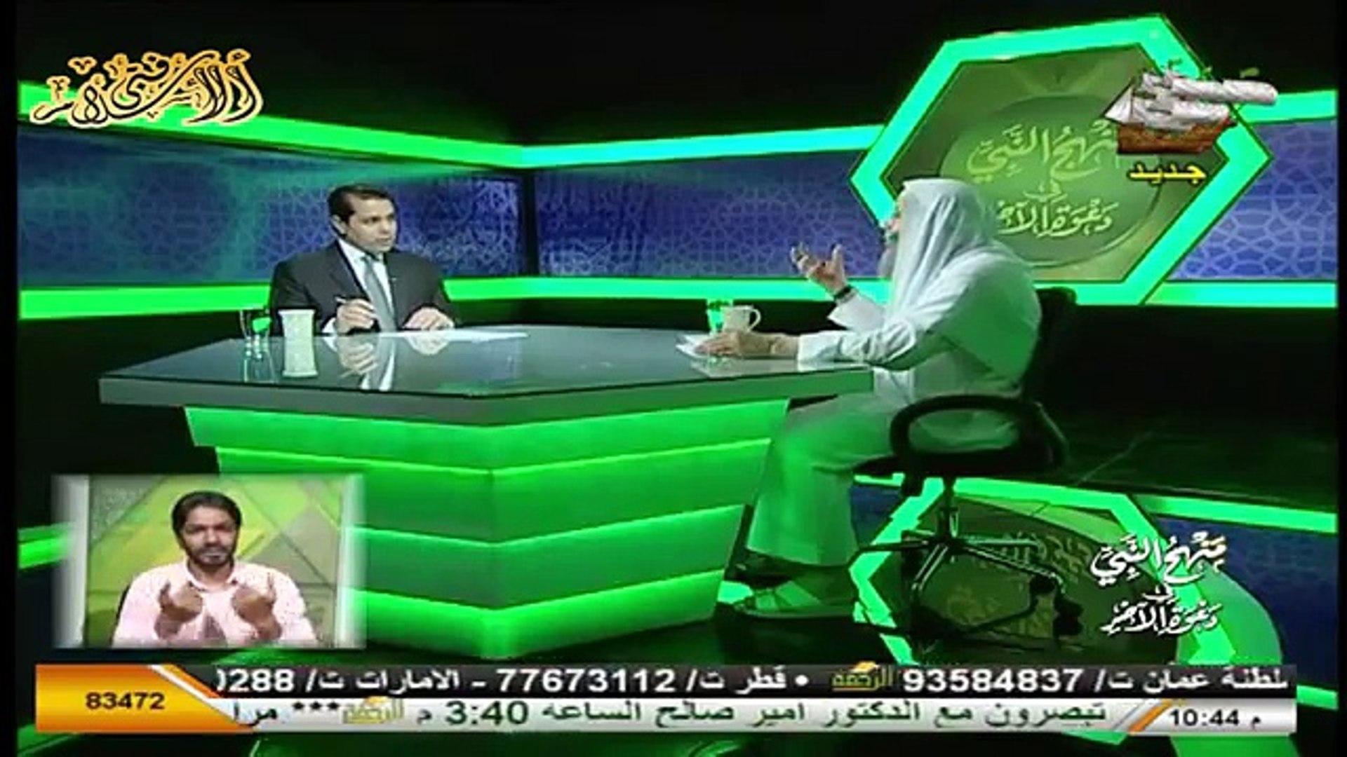 الاسلام اسلامية منهج النبى فى دعوة الاخر بلغة الاشارة الحلقة 3