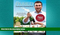 different   PAIRED - Champagne   Sparkling Wines. The food and wine matching recipe book for