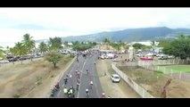Tour de la Réunion : il renverse une barrière sur la route devant les coureurs et provoque un accident grave