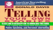 [PDF] Telling Your Own Stories (American Storytelling) Full Colection