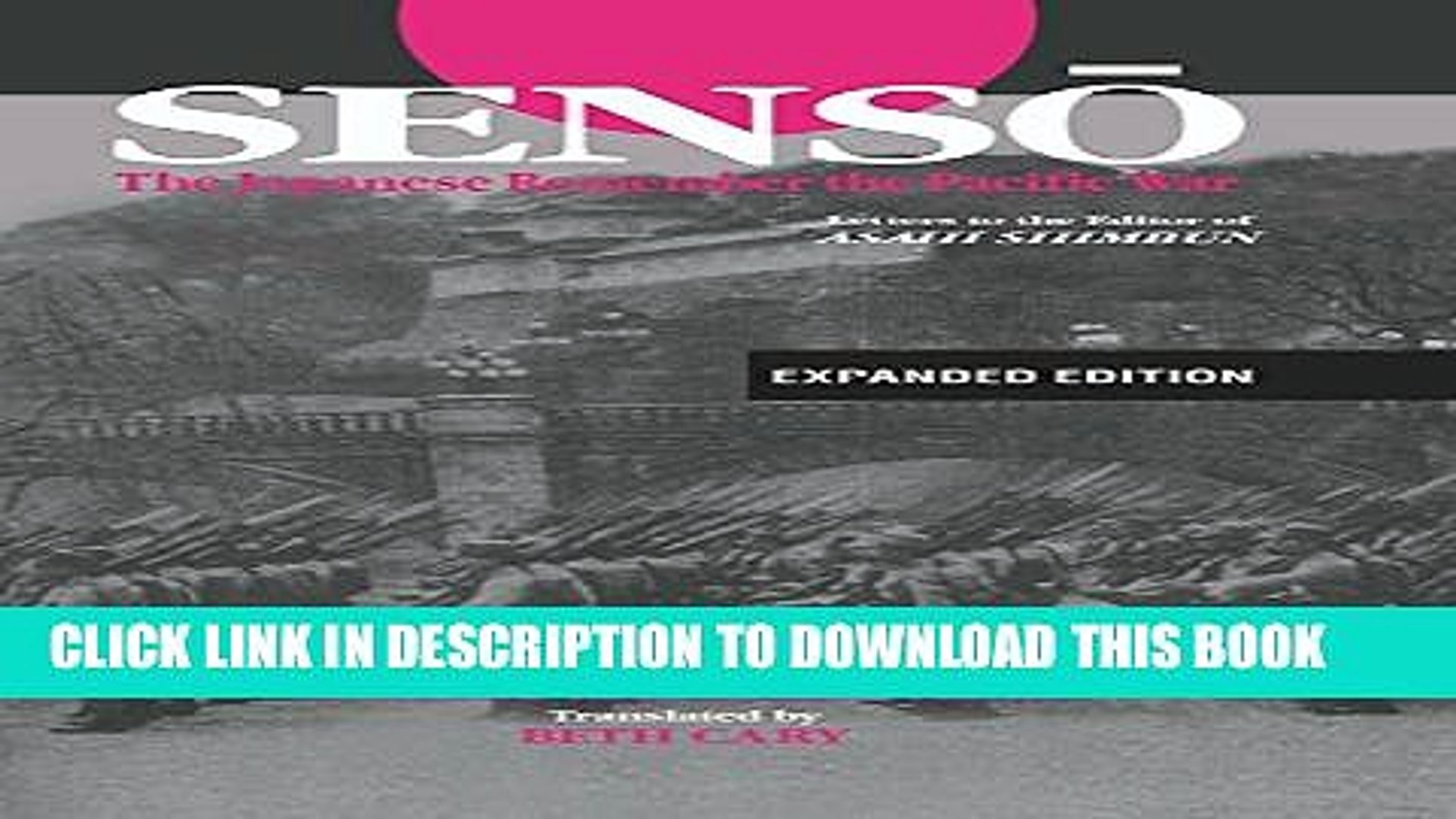 [PDF] Senso: The Japanese Remember the Pacific War: Letters to the Editor of