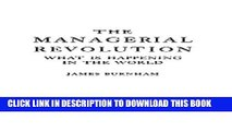 [PDF] The Managerial Revolution: What is Happening in the World Full Colection