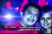 Inseguridad al límite: incrementa número de asaltos en Lima