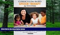 Big Deals  Curriculum-based Speech Therapy Activities: Volume II: Pre-K / Kindergarten  English