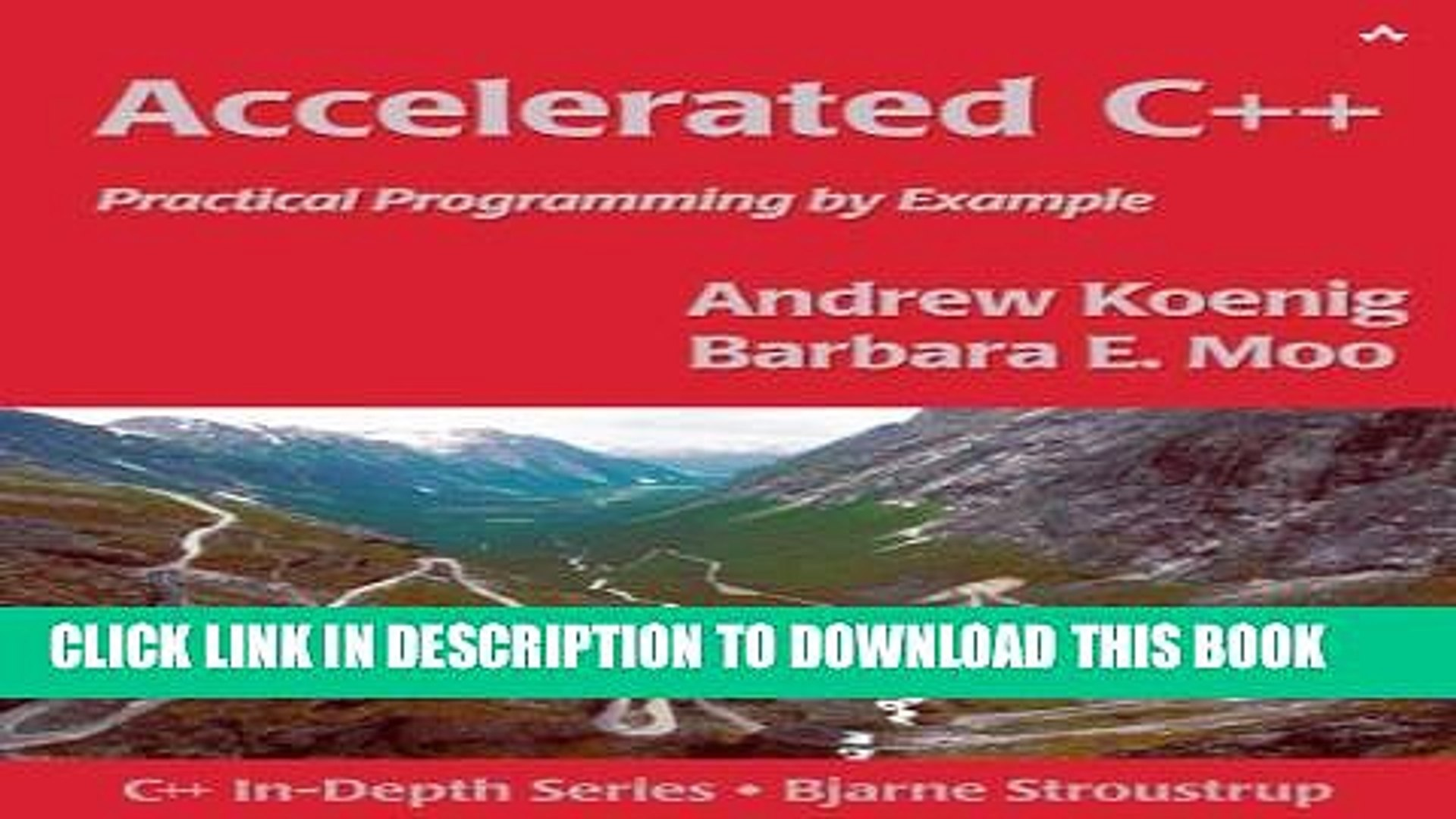 Accelerated c++ practical programming by example pdf free