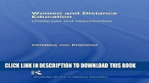 [PDF] Women and Distance Education: Challenges and Opportunities Full Online