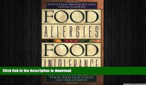 FAVORITE BOOK  Food Allergies and Food Intolerance: The Complete Guide to Their Identification
