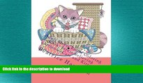 FAVORITE BOOK  Adult Stress Relief Coloring Book: Stress Relieving Gorgeous Cats and Kittens: