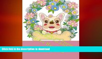 GET PDF  Anti-Stress Dogs and Puppies Coloring Book For Adults: Beautiful dogs, puppies, cats,