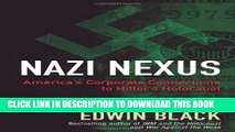 [PDF] Nazi Nexus: America s Corporate Connections to Hitler s Holocaust Full Colection