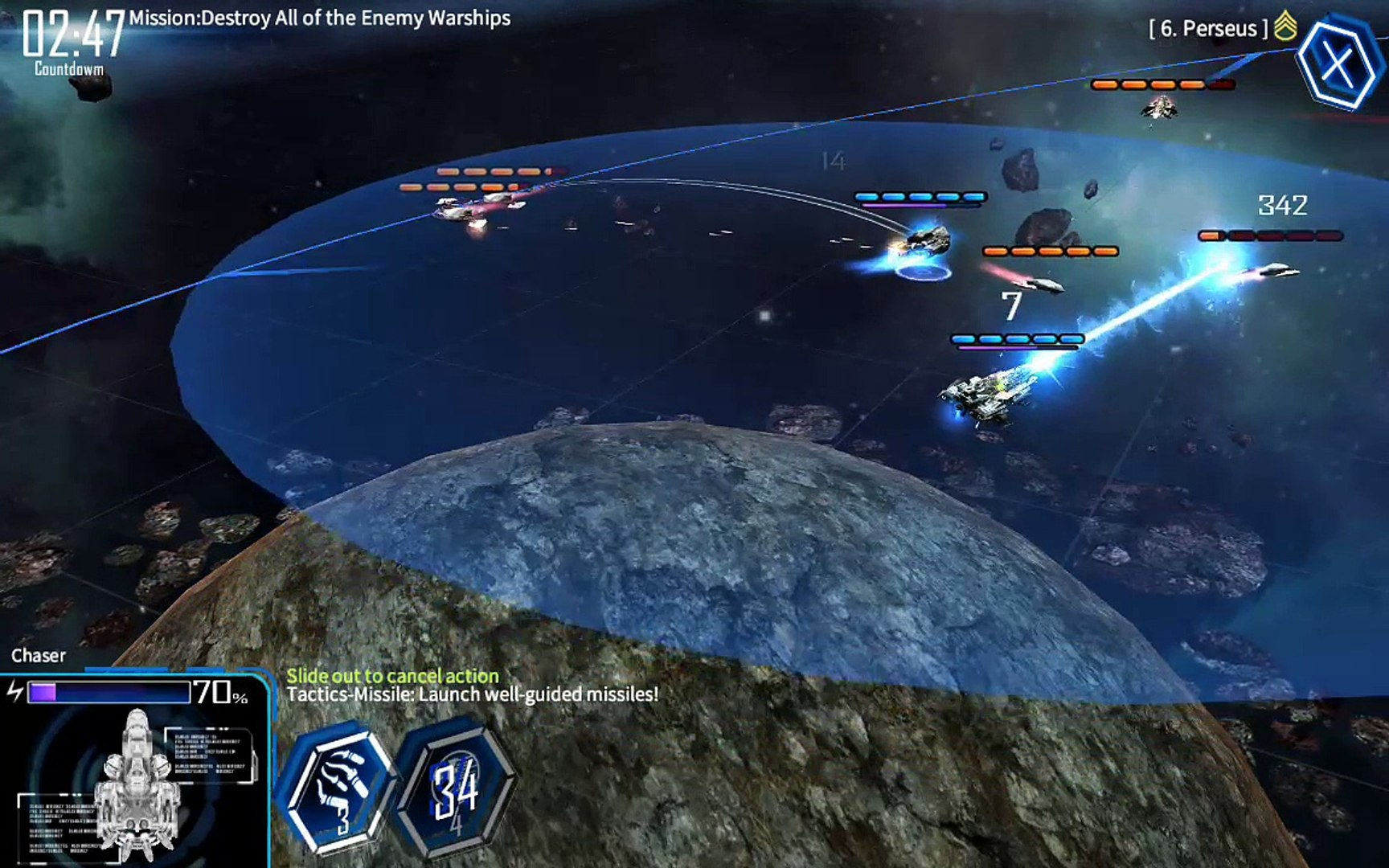 galaxy reavers-space rts - android gameplay playrawnow
