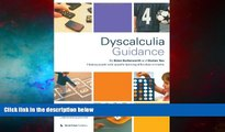 READ FREE FULL  Dyscalculia Guidance: Helping Pupils with Specific Learning Difficulties in