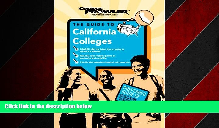 Enjoyed Read California Colleges (College Prowler) (College Prowler: California Colleges)
