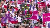 Paris:manifestation contre les violences envers les asiatiques