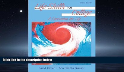 Online eBook LIFE-SKILLS FOR COLLEGE: A CURRICULUM FOR LIFE