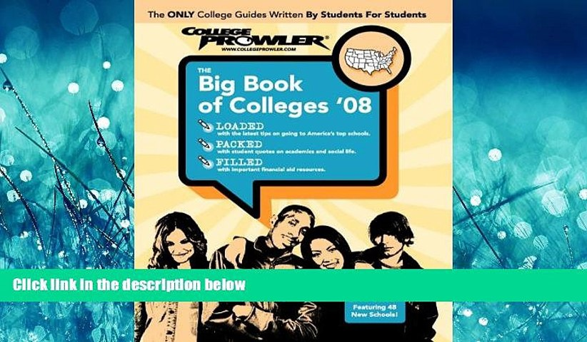 Online eBook The Big Book of Colleges 2008