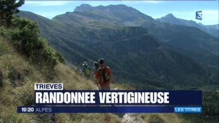 JT 19/20 Alpes du dimanche 4 septembre