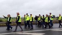 Chaîne humaine de Calaisiens