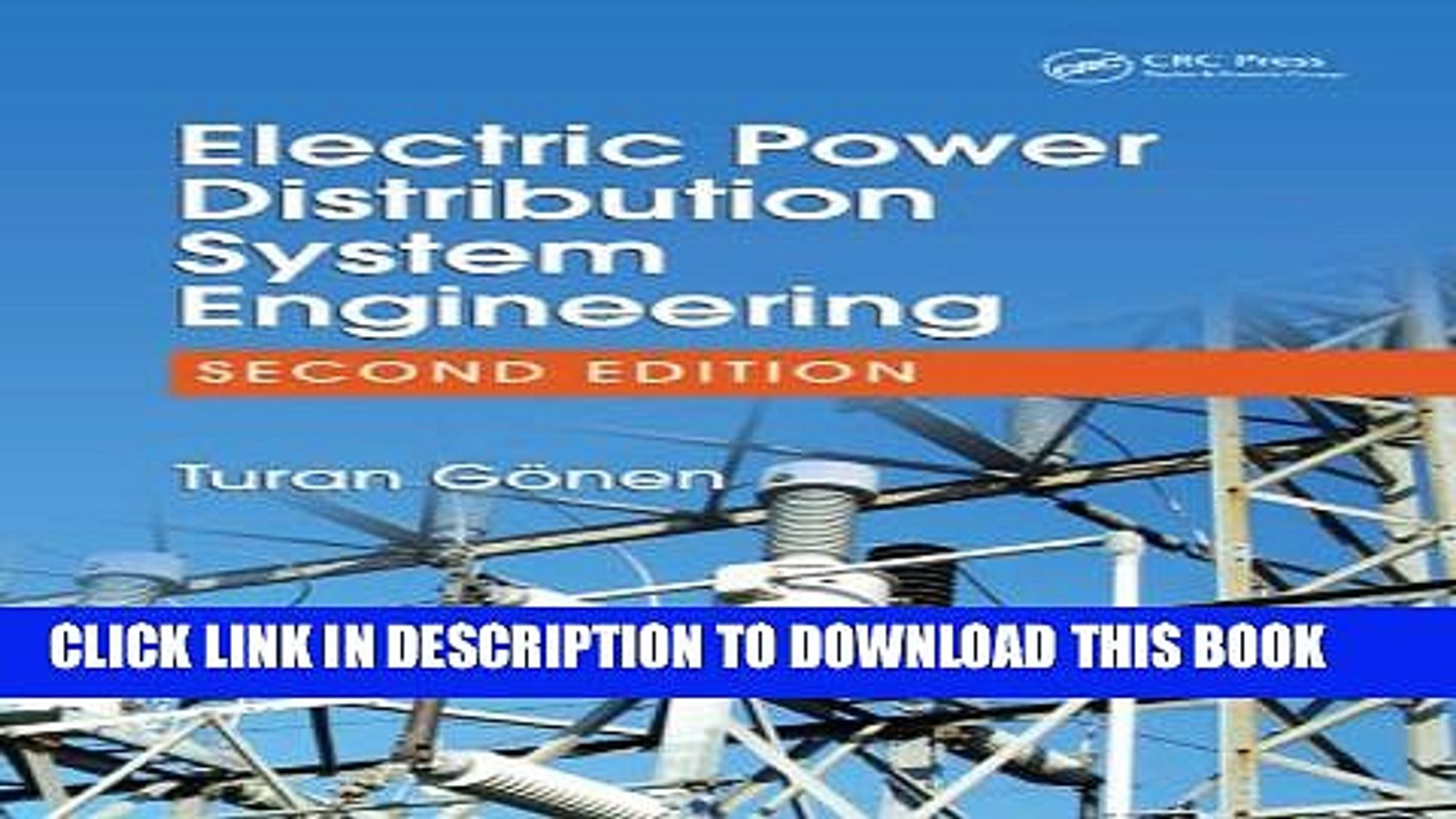 [PDF] Electric Power Distribution System Engineering, Second Edition Full  Online