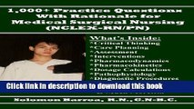 Best Ebook Medical-Surgical Nursing Review Questions For