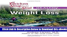 [PDF] Chicken Soup for the Soul Healthy Living Series Weight Loss: important facts, inspiring