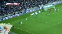 Italy Amazing Counter-Attack Chance - Israel vs Italy - World Cup Qualification - 05/09/2016