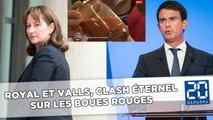 Royal et Valls, clash permanent sur le dossier des boues rouges