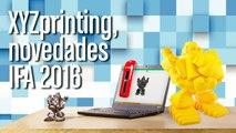 IFA16 Novedades XYZprinting