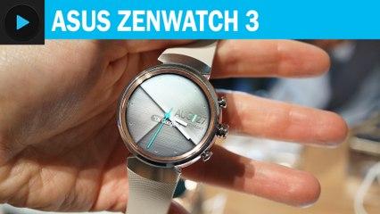 Asus Zenwatch 3 : Prise en main