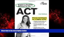 Choose Book English and Reading Workout for the ACT, 2nd Edition (College Test Preparation)