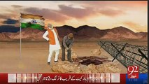 Mouth Breaking Reply By 92 News To India for Making Fun of General Raheel Sharif