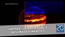 Jupiter: La Nasa publie des images inédites et en haute définition des deux pôles