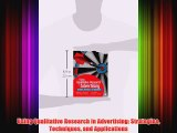 [PDF] Using Qualitative Research in Advertising: Strategies Techniques and Applications Popular