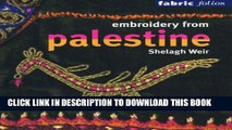 [PDF] Embroidery from Palestine (Fabric Folios) Full Online