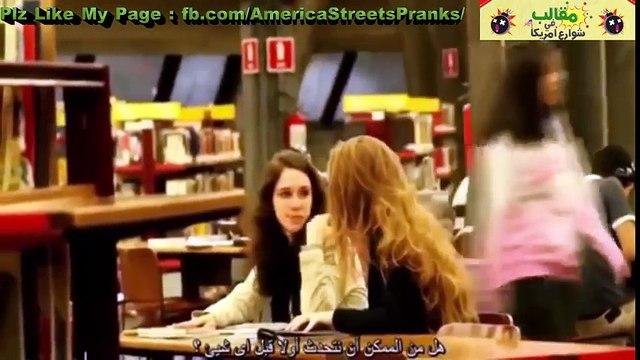 مقالب البوس مترجم - فتاة جميلة تحاول تقبيل الشباب والبنات في الجامعة ♥ شاهد قبل الحذف +18 --مترجم
