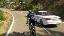 Regreso de Yates después de su caída / Yates is back after his crash - Etapa / Stage 16 (Alcañiz / Peñíscola) - La Vuelta a España 2016