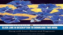 [PDF] Stung with Love: Poems and Fragments of Sappho: Poems and Fragments of Sappho (Penguin