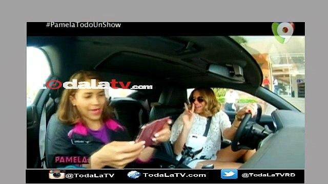 Pamela Sued Como Chofer de UBER-Pamela Todo Un Show-Video