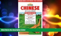 FREE PDF  Chinese at a Glance: Phrase Book and Dictionary for Travelers  FREE BOOOK ONLINE