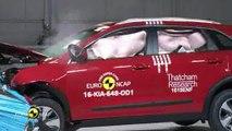 Le Kia Niro obtient quatre étoiles aux crash-tests Euro NCAP