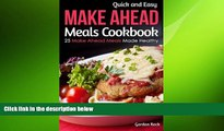 behold  Quick and Easy Make Ahead Meals Cookbook: 25 Make Ahead Meals Made Healthy