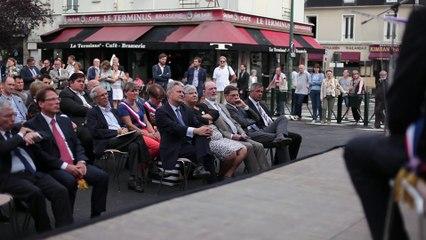 Pôle réaménagé de la gare du Raincy – Villemomble – Montfermeil