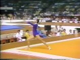 1976 Olympics Gymnastics - Women's Floor Exercise Final