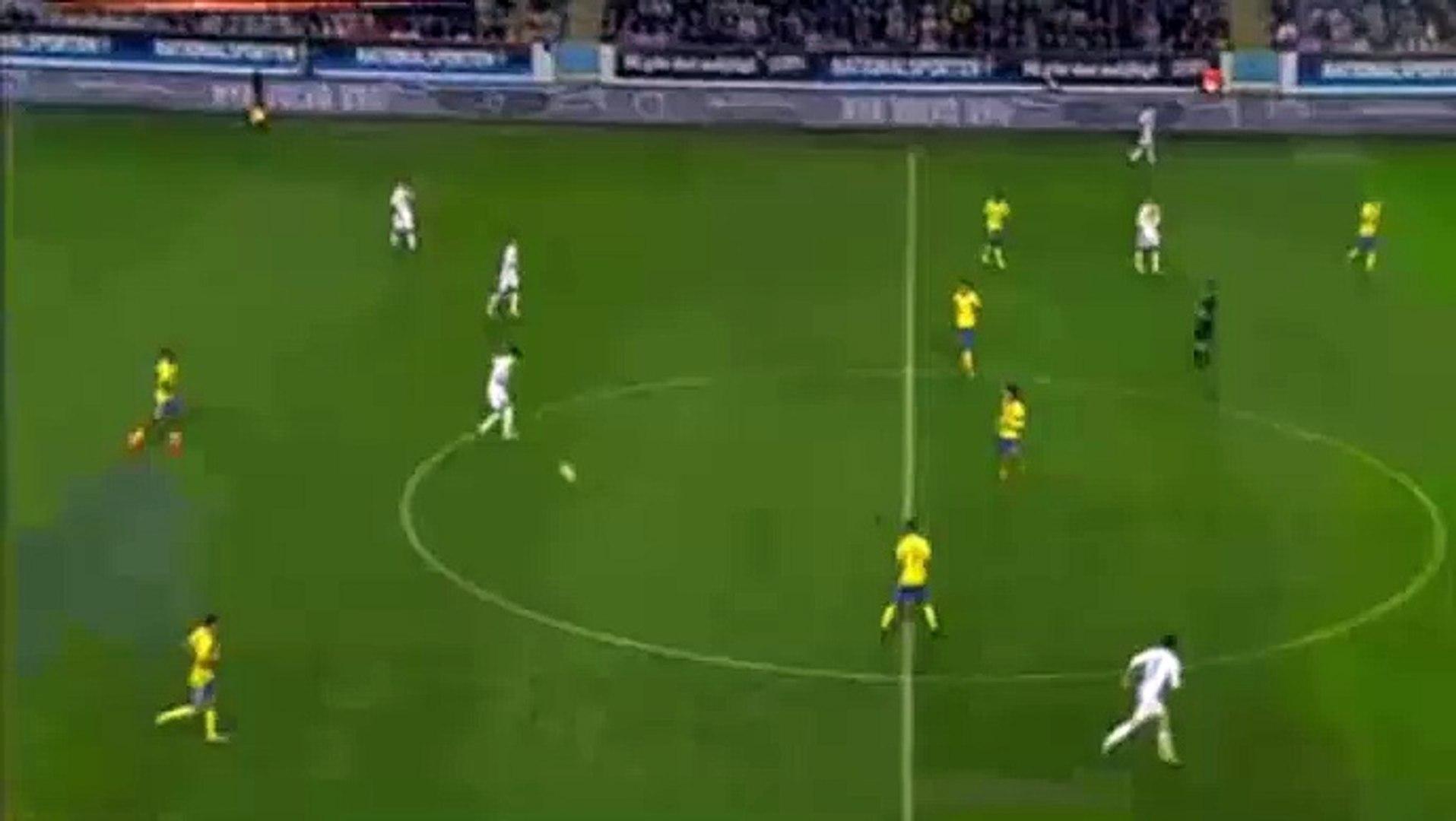 Gerard Deulofeu Amazing Goal - Sweden U21 0-1 Spain U21 - (05/09/2016)