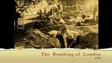 The Newsreel The Bombing of London 1940