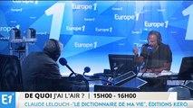 """Claude Lelouch : Stromaé, """"plus qu'un génie, un extraterrestre"""""""