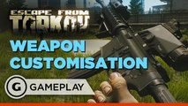 Exclusive Escape From Tarkov Weapon Customisation Gameplay